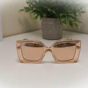 Rose Gold CHANEL Glasses